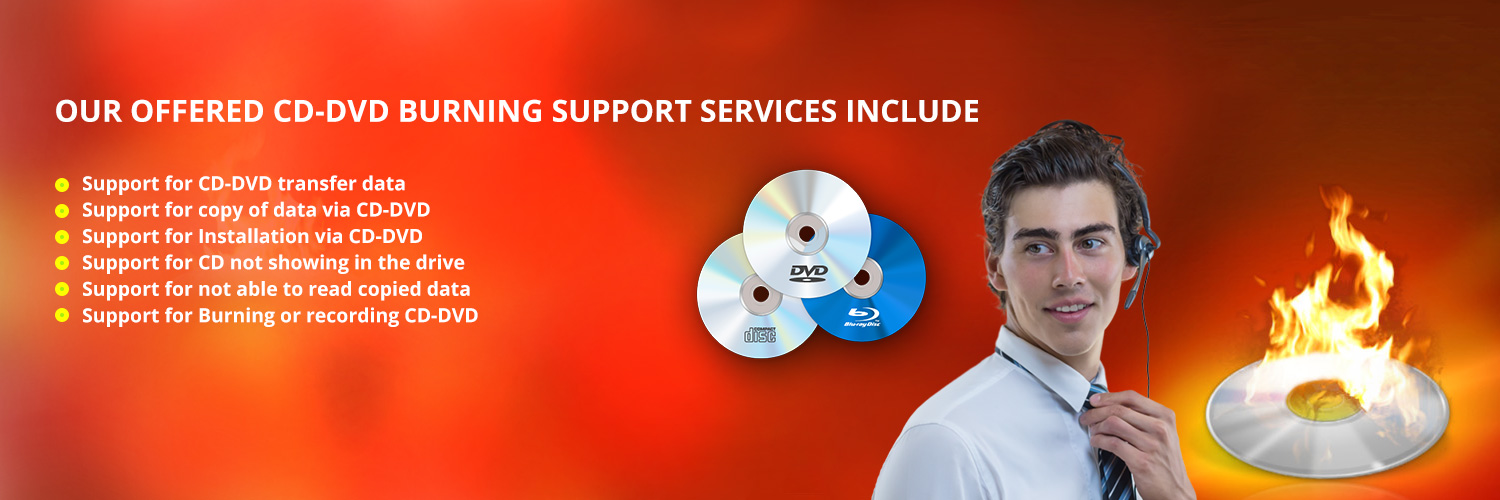 CD DVD Burning Support