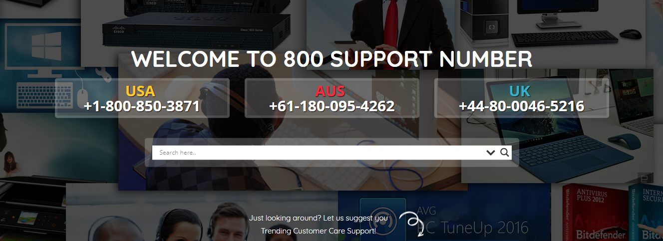 800 Support Number Europe