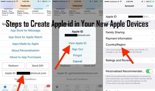 1-800-297-9984 How to Create Apple id in Your New Apple Devices?