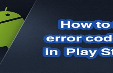 Google Play Store Error 20