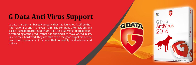 G Data Antivirus Support