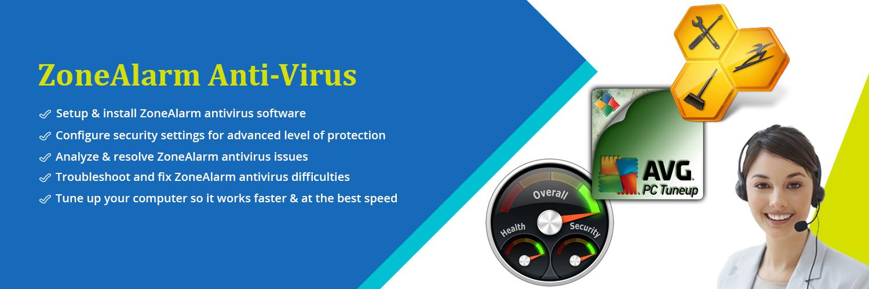 ZoneAlarm Antivirus Support