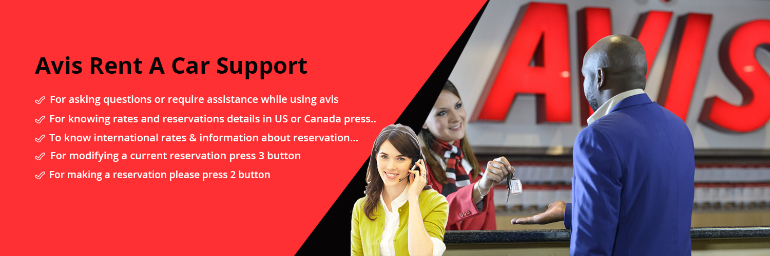 Avis Rent A Car Support