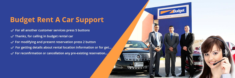 Budget Rent A Car Support