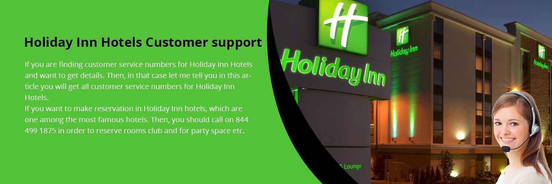 Holiday Inn Customer Support
