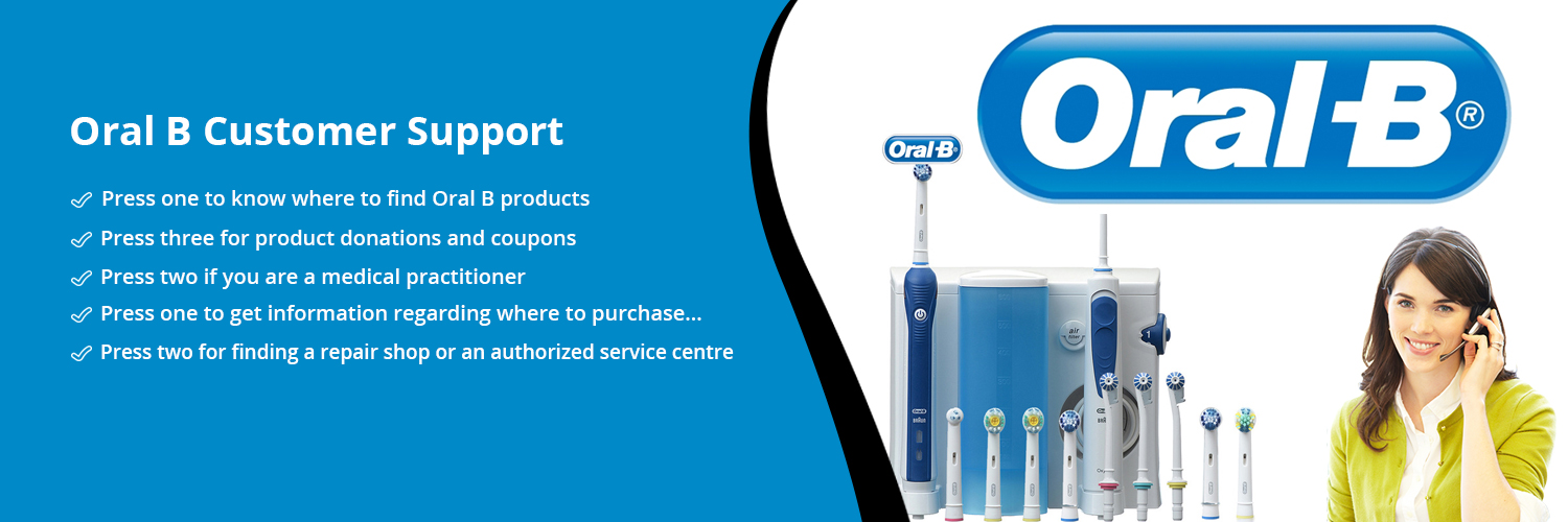Oral B Customer Support