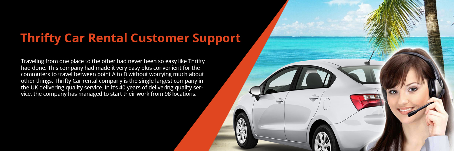 Thrifty Rent a Car Support