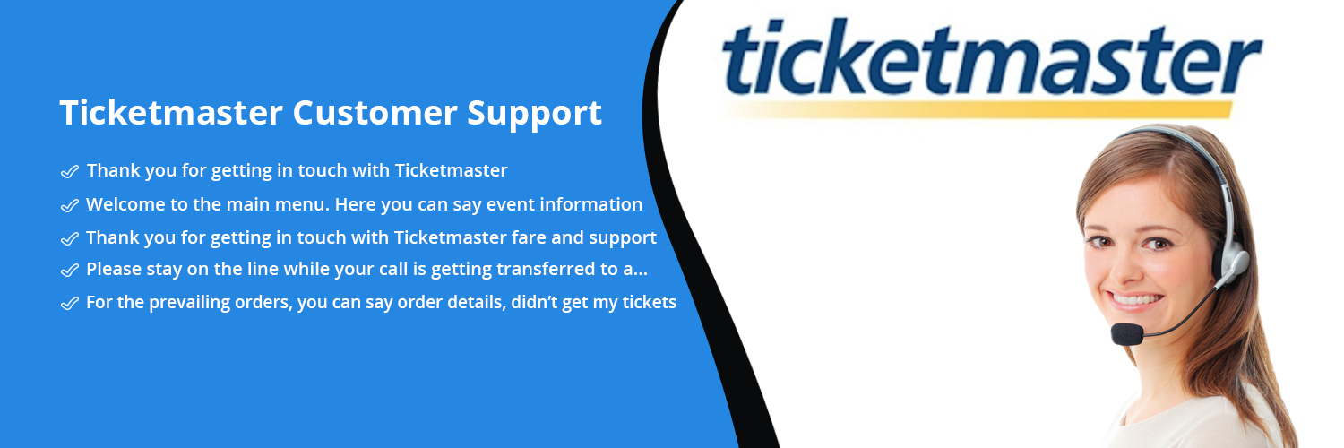 Ticketmaster Customer Support